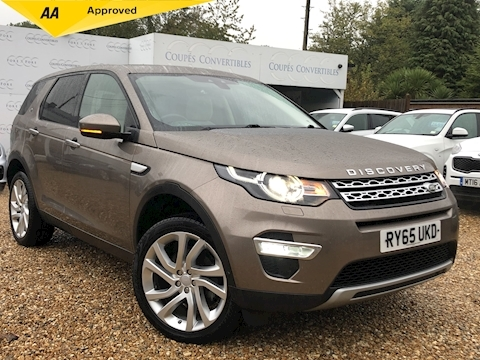 Land Rover Discovery Sport Td4 Hse Luxury 7 Seat 2.0 5dr Estate Automatic Diesel