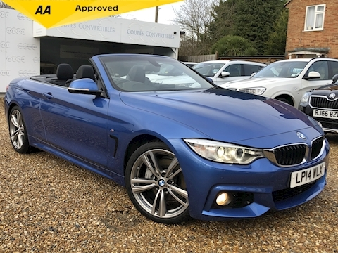 BMW 4 Series 435I M Sport Convertible 3.0 Automatic Petrol