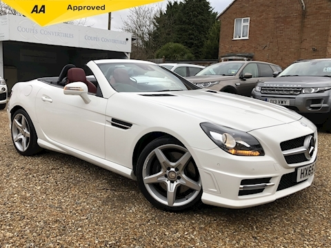 Mercedes-Benz Slk 200 Amg Sport 2.0 2dr Convertible Manual Petrol