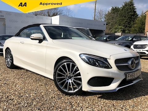 Mercedes-Benz C Class C200T Amg Line Premium Plus (360 Camera's/Driver assist pack) 2.0 2dr Convertible Automatic Petrol