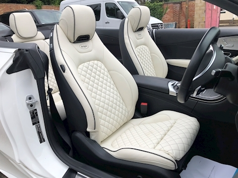 Mercedes-Benz C Class C 200T Amg Line 2.0 2dr Convertible Automatic Petrol