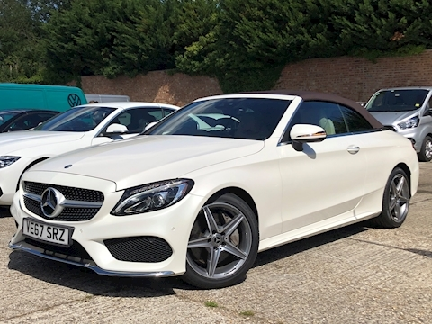 Mercedes-Benz C Class AMG Line Cabriolet 2.0 G-Tronic+ Petrol