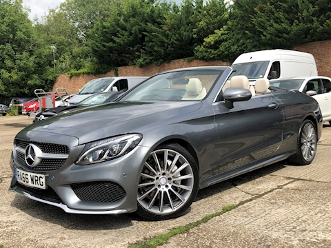 Mercedes-Benz C Class AMG Line Cabriolet 2.1 G-Tronic+ Diesel