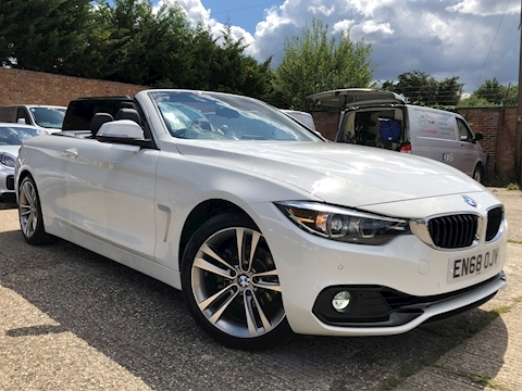 BMW 4 Series 420i Sport Convertible Convertible 2.0 Automatic Petrol