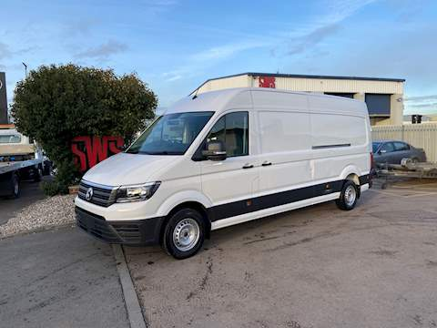 Volkswagen Crafter 140 BHP Euro 6 2.0 Manual LWB 2.0 HPI: Clear Diesel