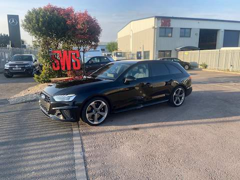 Audi S4 Black Edition TDI 347 bhp S-Tronic HPI: Clear 3.0 Automatic Diesel