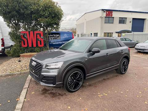 Audi Q2 Tfsi S Line Black Edition 30 115 1.0 HPI: Clear Manual Petrol