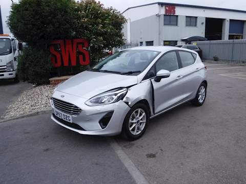 Ford Fiesta Zetec 1.1 5dr Cat S Manual Petrol