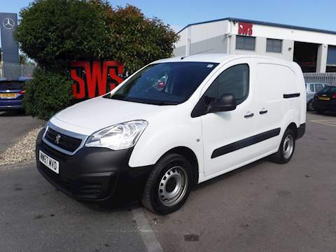 Peugeot Partner Blue Hdi S L2 1.6 Clear Manual Diesel