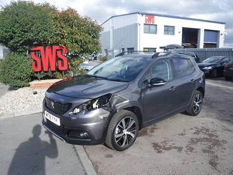 Peugeot 2008 S/S Gt Line 1.2 5dr Cat S Manual Petrol