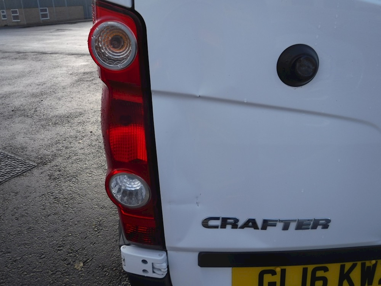 Volkswagen Crafter Cr35 Tdi H/R P/V 2 0 Cat S Manual Diesel