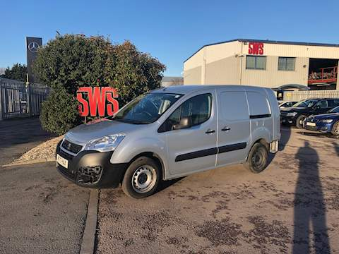 Peugeot Partner Blue Hdi S L2 1.6 Cat S Manual Diesel