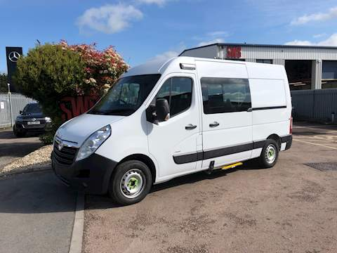 Vauxhall Movano L2h2 F3500 P/V 2.3 Cat S Manual Diesel