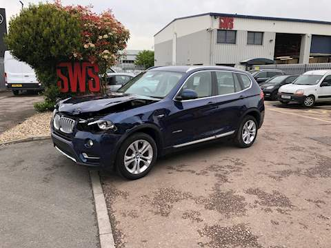 Bmw X3 Xdrive30d Xline 3.0 5dr Cat S Automatic Diesel