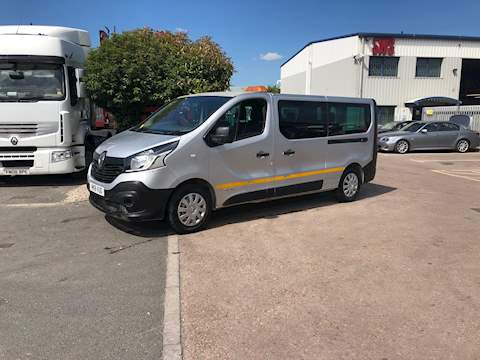 Renault Trafic Ll29 Business Energy Dci Crew 1.6 5dr Cat S Manual Diesel