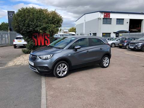 Vauxhall Crossland X Tech Line Nav S/S 1.2 5dr Cat N Manual Petrol