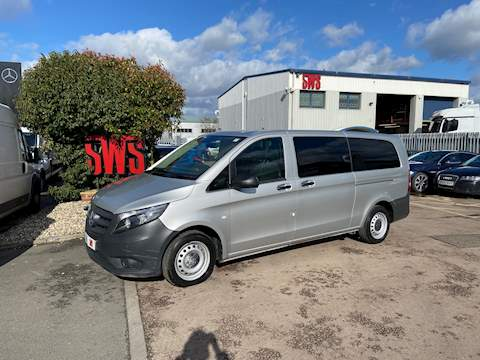 Mercedes-Benz Vito 114 Bluetec Tourer Pro 2.1 5dr HPI: Clear Manual Diesel