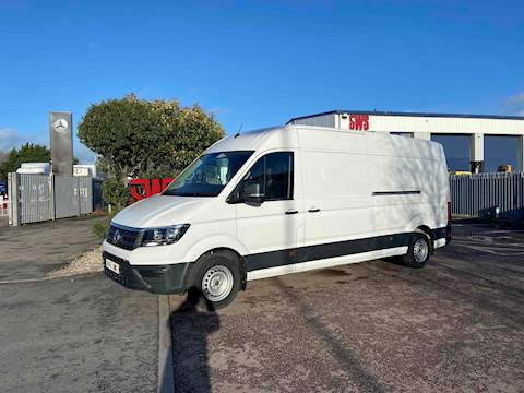 Volkswagen Crafter Business CR35 LWB Tremdline 140 DSG 2.0 5dr HPI: Clear Automatic Diesel