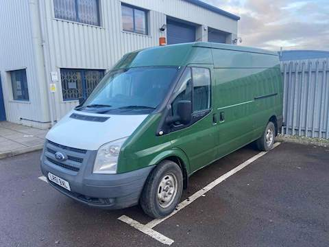 Ford Transit 2.4 TDCi 350 Duratorq Medium Roof Van 3dr Diesel Manual LWB (98 bhp) 2.4 3dr HPI: Clear Manual Diesel