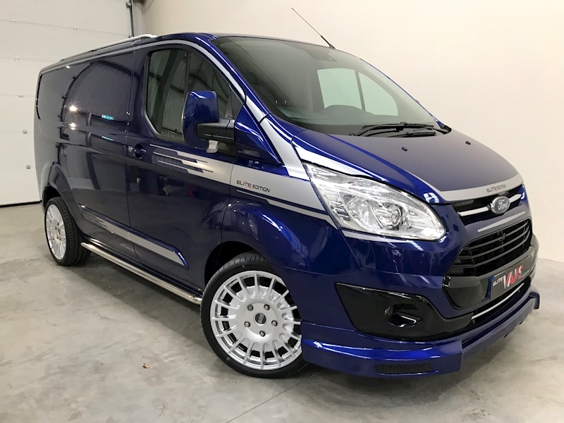 2017 67 Ford Transit Custom 290 Van 2.0 TDCI Limited Elite Edition SWB 130