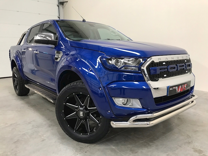 2016 66 Ford Ranger Limited 1 4X4 Dcb Pick Up 2.2 TDCI Elite Edition