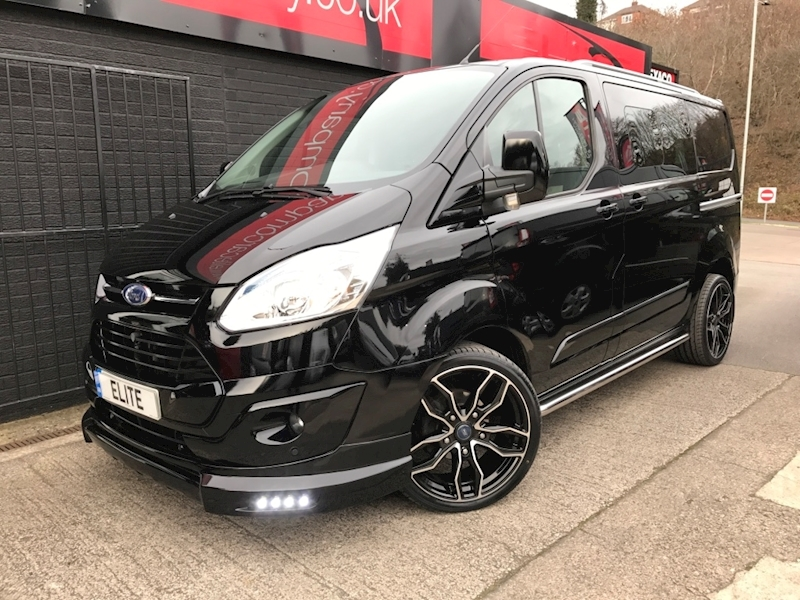 2016 65 Ford Transit Custom Double Cab in Van 290 Limited  [Elite Edition] [125] [Tailgate]