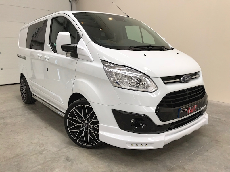 2017 17 Transit Custom 310 Limited Double Cab in Van 2.0 tdci Elite Edition [SWB] 130