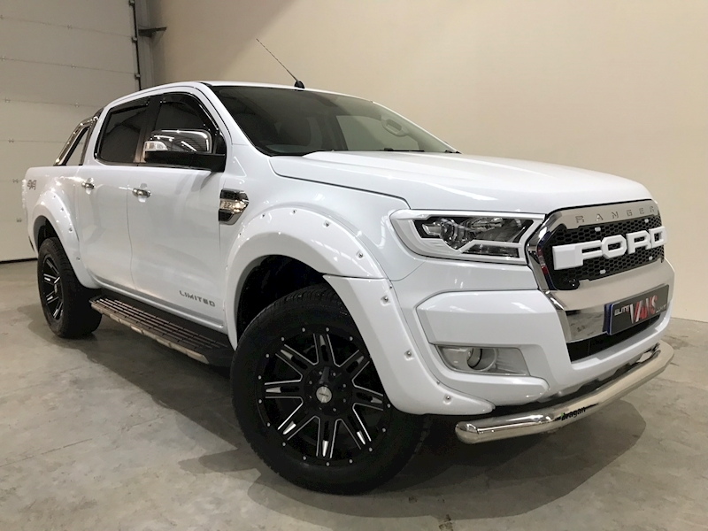 2016 16 Ranger Limited 4X4 Dcb Pick Up 2.2 TDCI 160 [Manual]