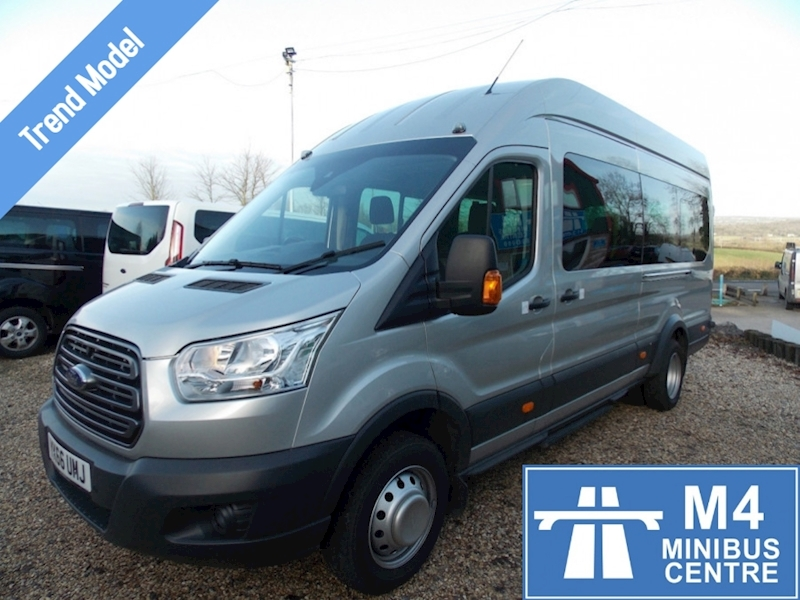 Ford Transit 125ps,17st trend,tacho,full a/c Image 1