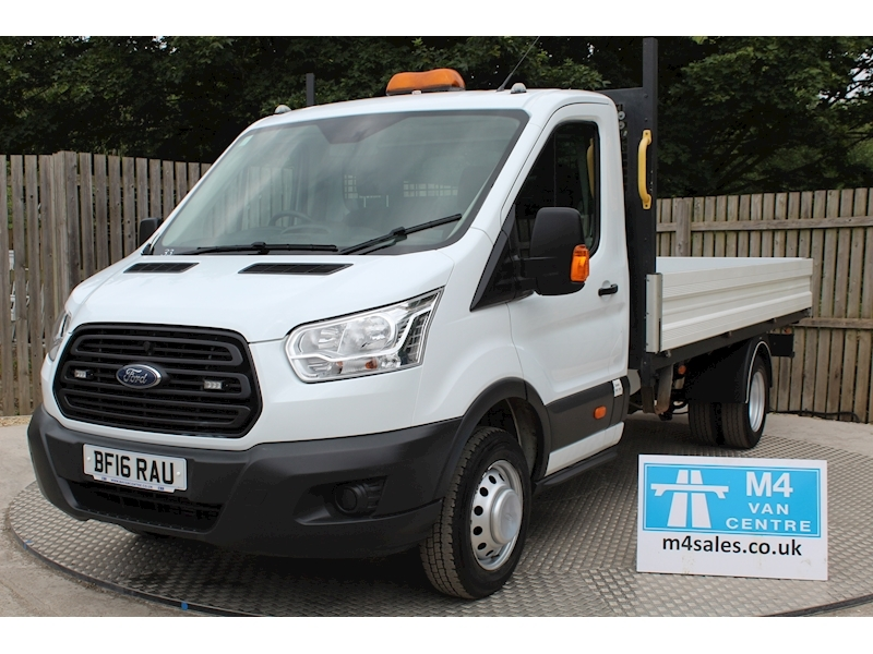 Ford Transit 350 S/C Dropside 1 stop body 125ps Image 1