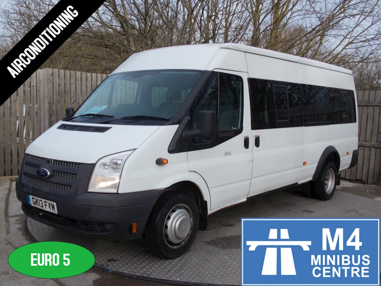 0d9f9ef375 Used 2013 Ford Transit 135ps 17 Seater (U1065)
