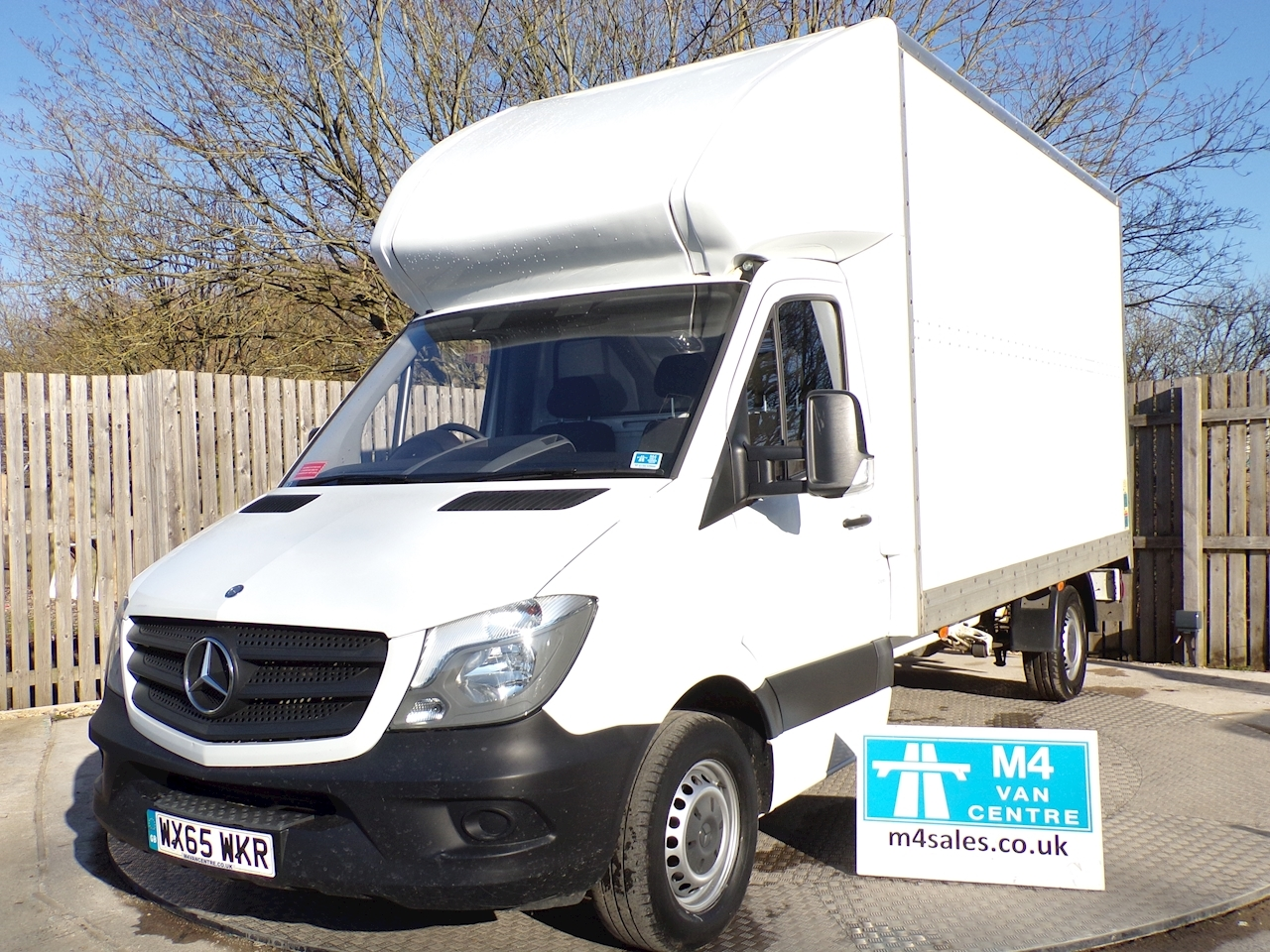 1a14f67722574a Used 2015 Mercedes-Benz Sprinter 313 CDI Luton (U1110)
