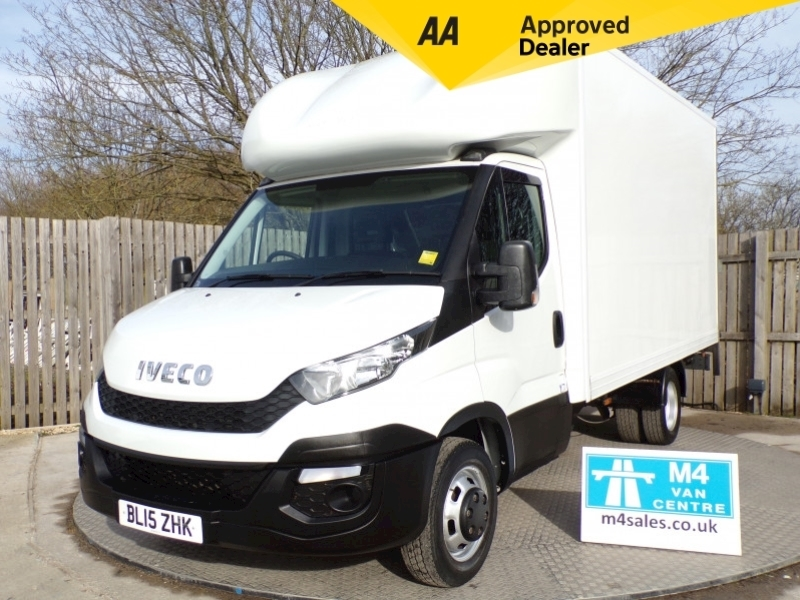 Iveco Daily 35C13 Luton 14ft Body Image 1