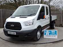Ford Transit 350 Crew Cab 1 stop Tipper - Thumb 0