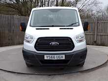 Ford Transit 350 Crew Cab 1 stop Tipper - Thumb 1