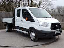 Ford Transit 350 Crew Cab 1 stop Tipper - Thumb 2