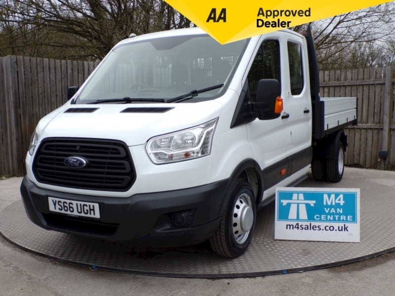 Ford Transit 350 Crew Cab 1 stop Tipper Image 1