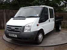 Ford Transit T350L D/C RWD TIPPER 100ps *NO VAT* - Thumb 1