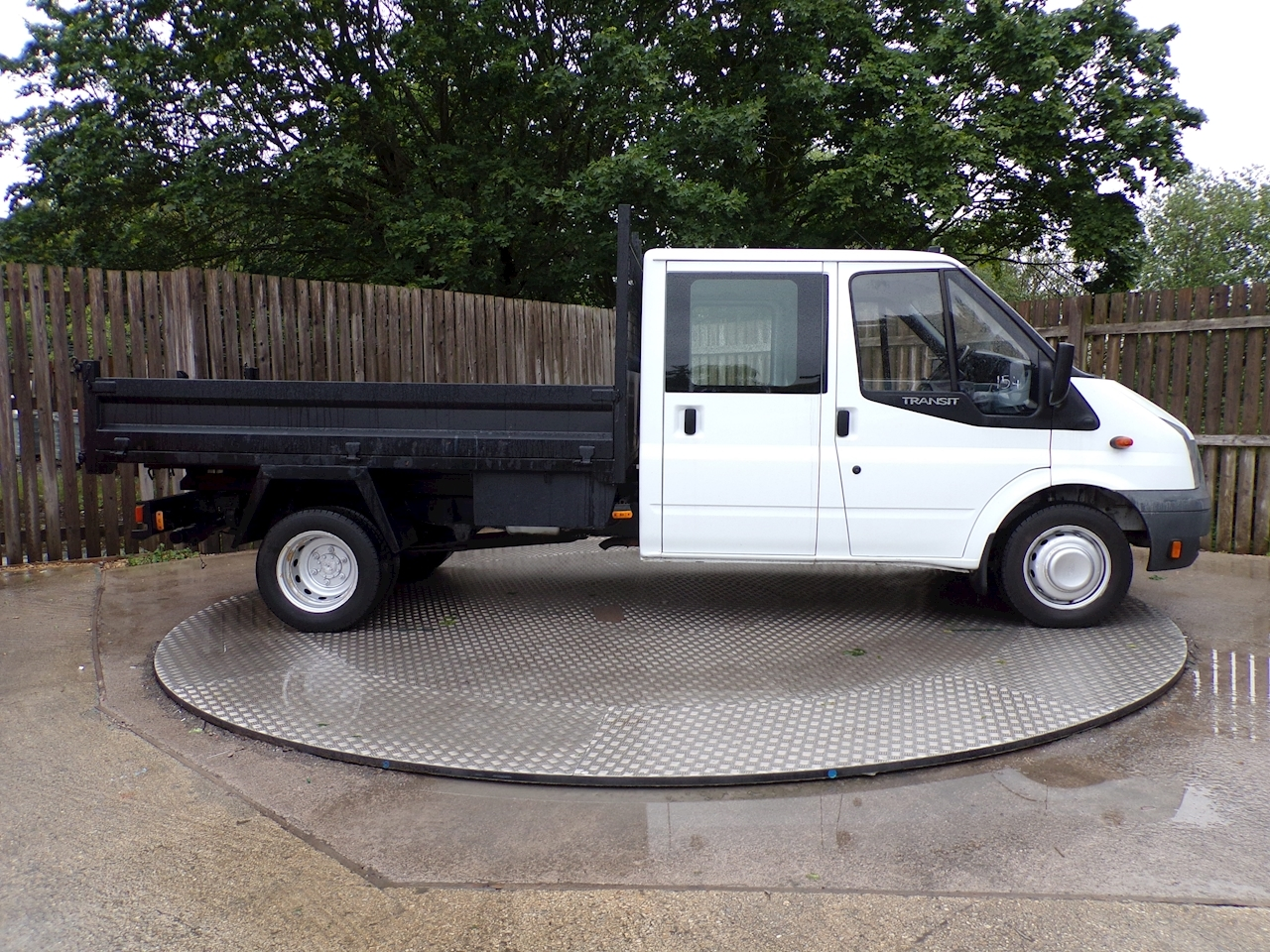 Ford Transit T350L D/C RWD TIPPER 100ps *NO VAT*