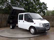 Ford Transit T350L D/C RWD TIPPER 100ps *NO VAT* - Thumb 10