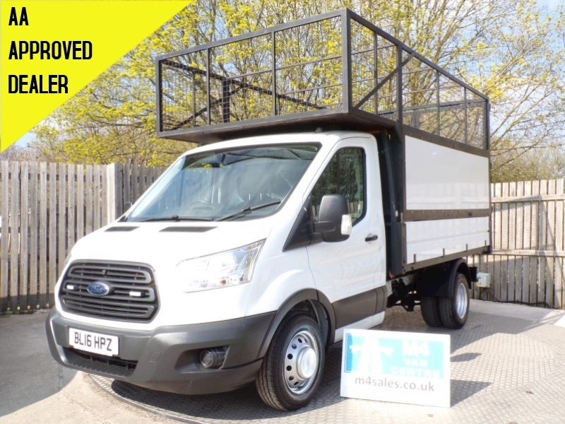 Transit 350 1 Stop With Cage Tipper 2.2 Manual Diesel