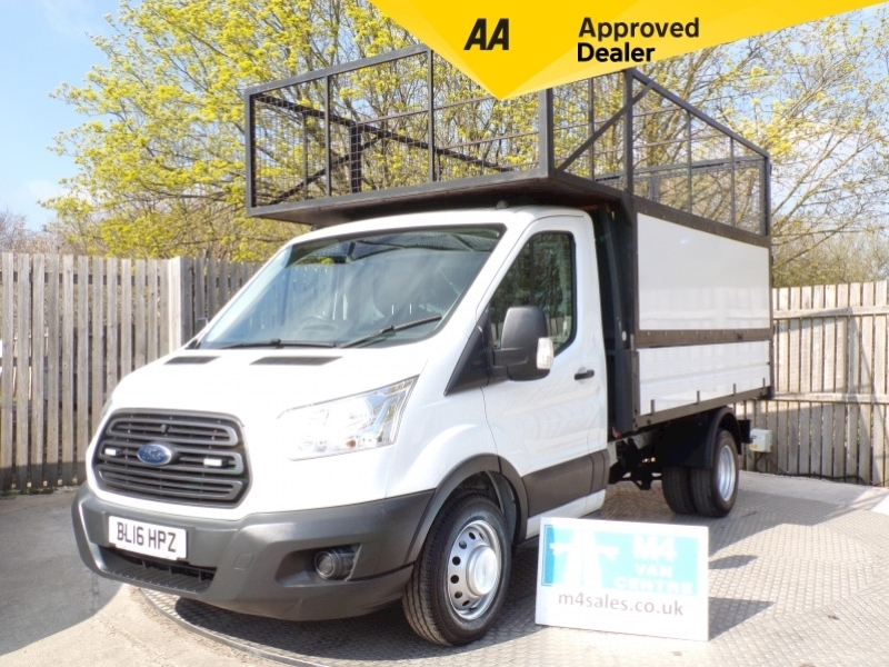Ford Transit 350 Tipper 1 Stop With Cage Image 1