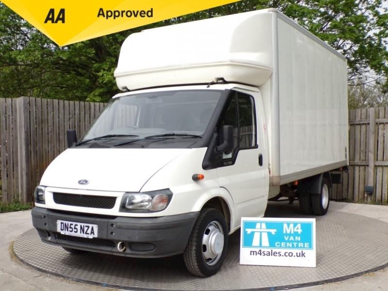 Ford Transit 350 LWB LUTON WITH TAIL LIFT 115PS Image 1