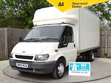 Ford Transit 350 LWB LUTON WITH TAIL LIFT 115PS - Thumb 0