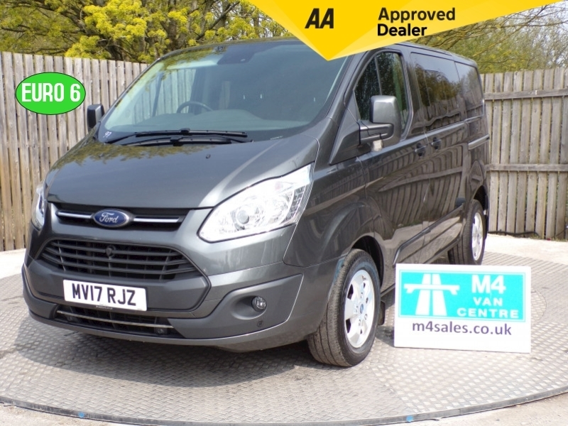 Ford Transit Custom 290 LIMITED CREWCAB A/C EURO 6 - 2.0L Image 1