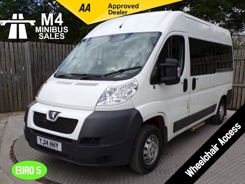 Peugeot Boxer 6 Seat Wheelchair Access Image 1