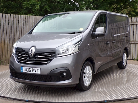 Trafic Sl27 Sport SWB ENERGY Panel Van 1.6 Manual Diesel