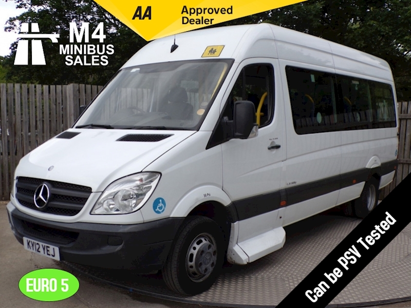 Sprinter 513 17 Seat Wheelchair Access Minibus 2.1 Automatic Diesel