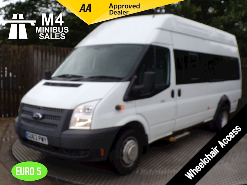 Ford Transit Wheelchair Access 17 Seat High Roof Image 1