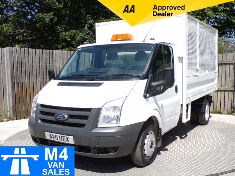 Ford Transit T330S CAGED TIPPER 115PS Image 1